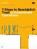 7 Steps to Reestablish Trust in Government Operations