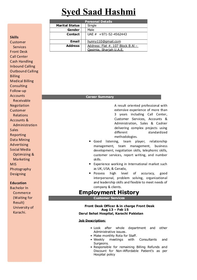 updated resume syed saad hashmi updated