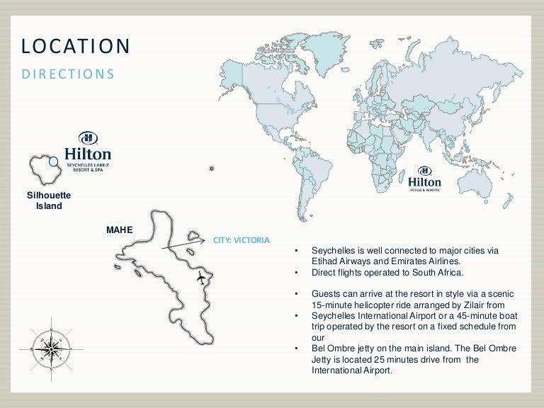 Hilton Seychelles Labriz Resort Spa Maps