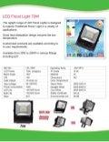 70W LED Flood  Light Specification new