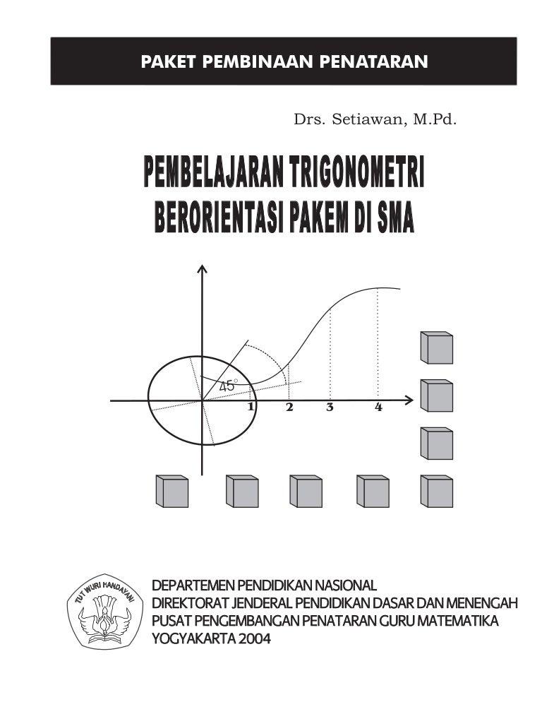 Modul matematika pembelajaran trigonometri ccuart Images