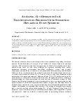 AN ALPHA -CUT OPERATION IN A TRANSPORTATION PROBLEM USING SYMMETRIC HEXAGONAL FUZZY NUMBERS