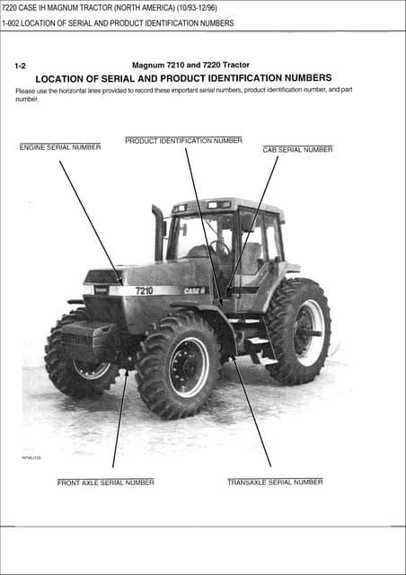 case ih case international 7110 7120 7130 7140 tractor service repair\u2026Case International 7110 Wiring Diagrams #4
