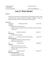 Resume En Espanol Sivan Mydearest Co