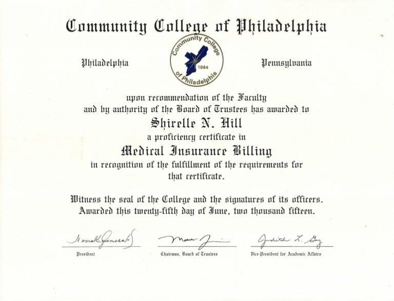 certificate ccp
