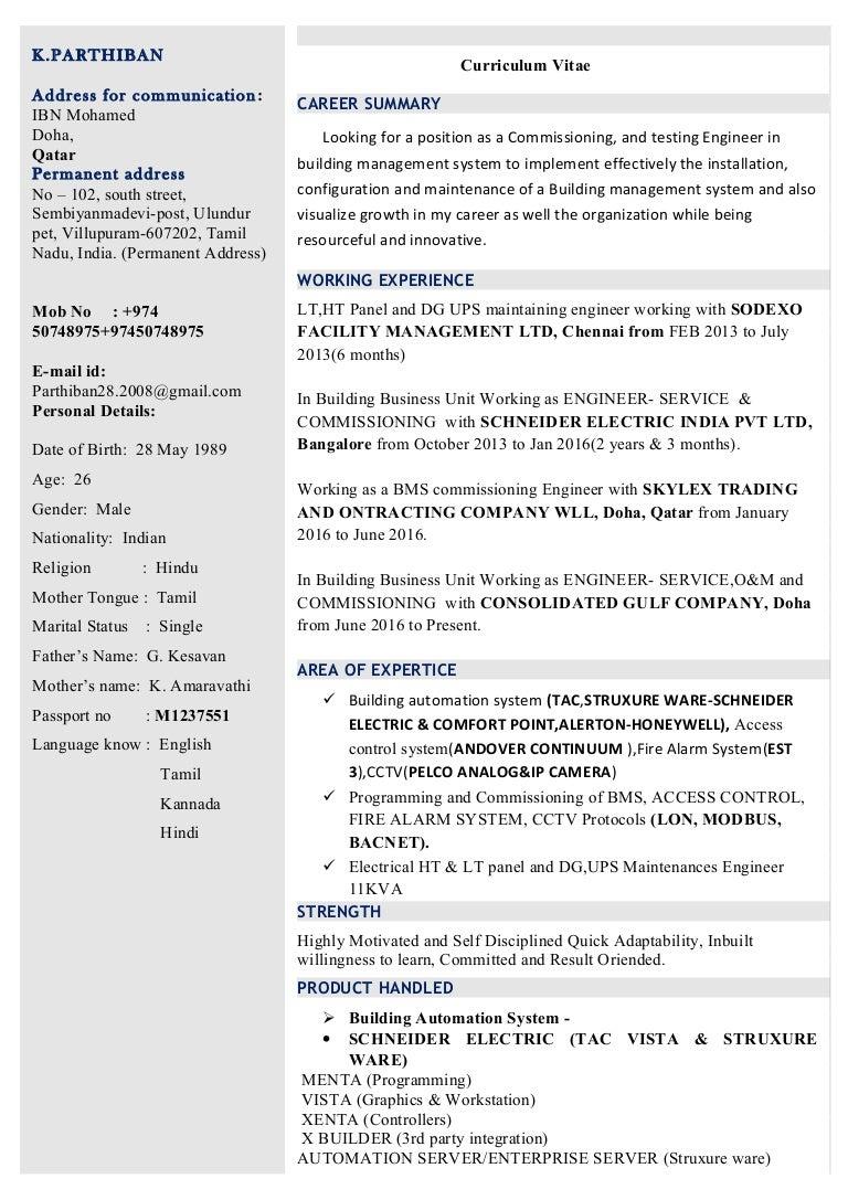 resume Submit Resume In Lt parthiban update resume