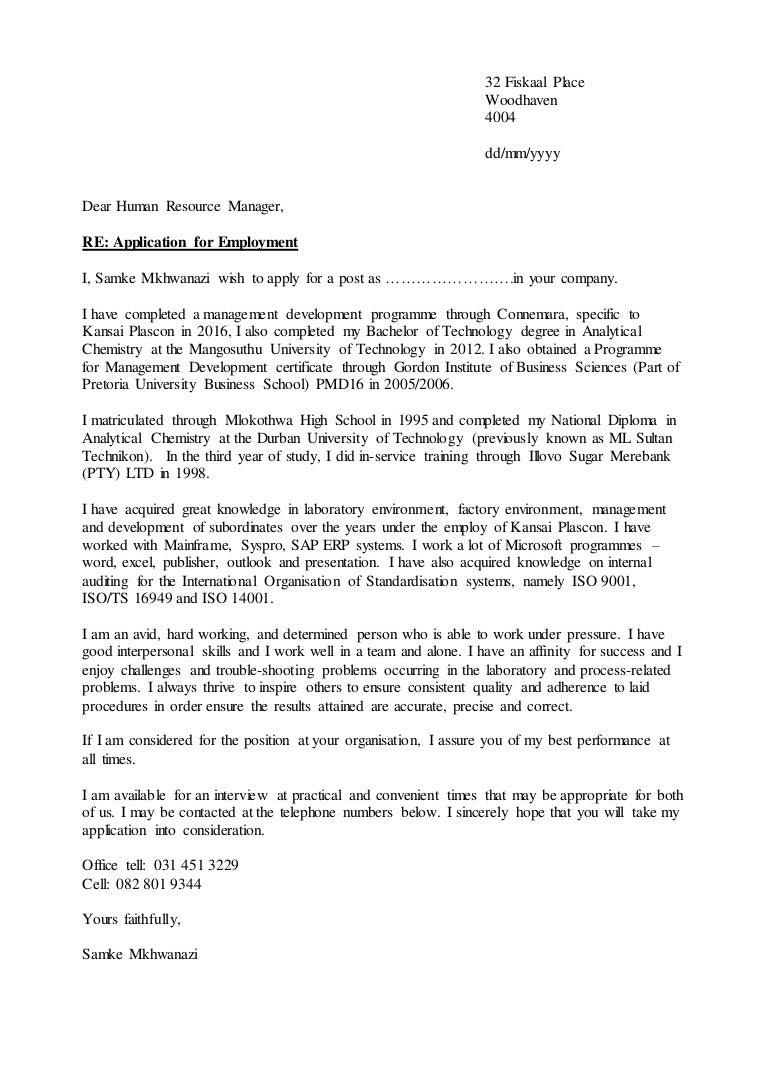 Samke covering letter 2017 xflitez Image collections
