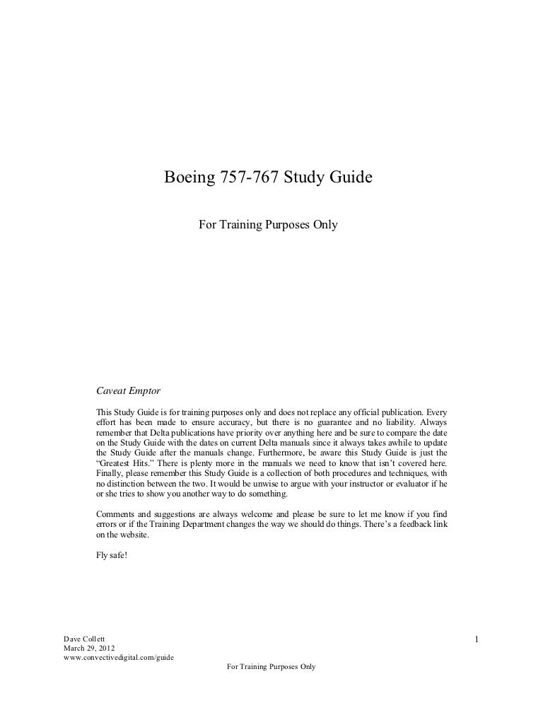 757 767 study guide rh slideshare net