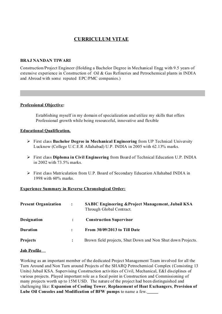 latest resume