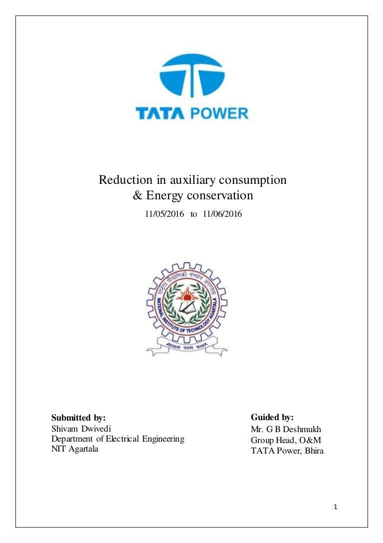 Project Report Tata Power