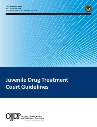 drug addiction juvenile delinquency
