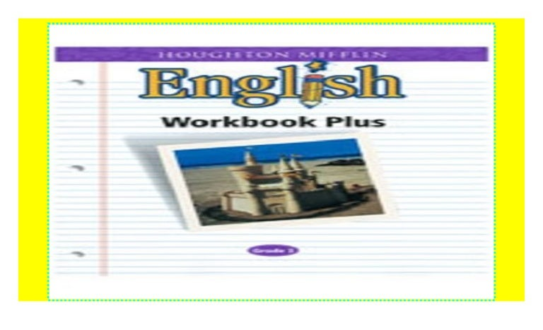 Houghton Mifflin English Workbook Plus Grade 3 Read Epub