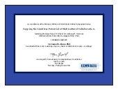 Symposium Certification, IGI Global, USA.