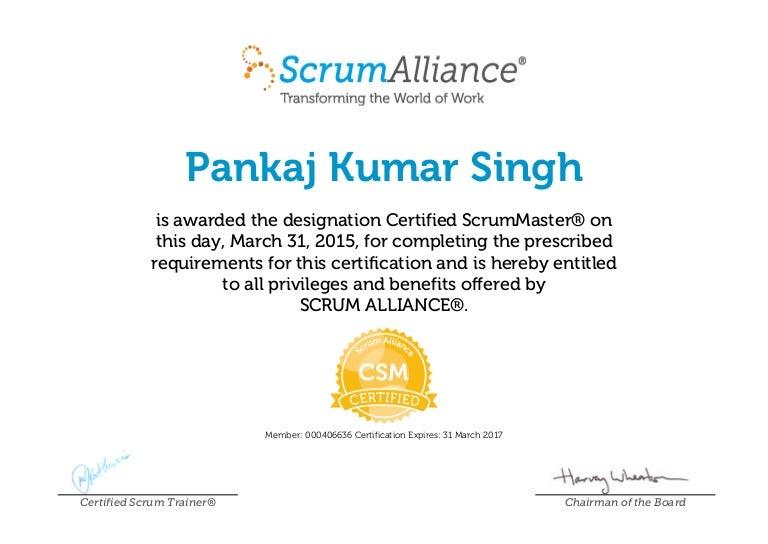 csm certificate