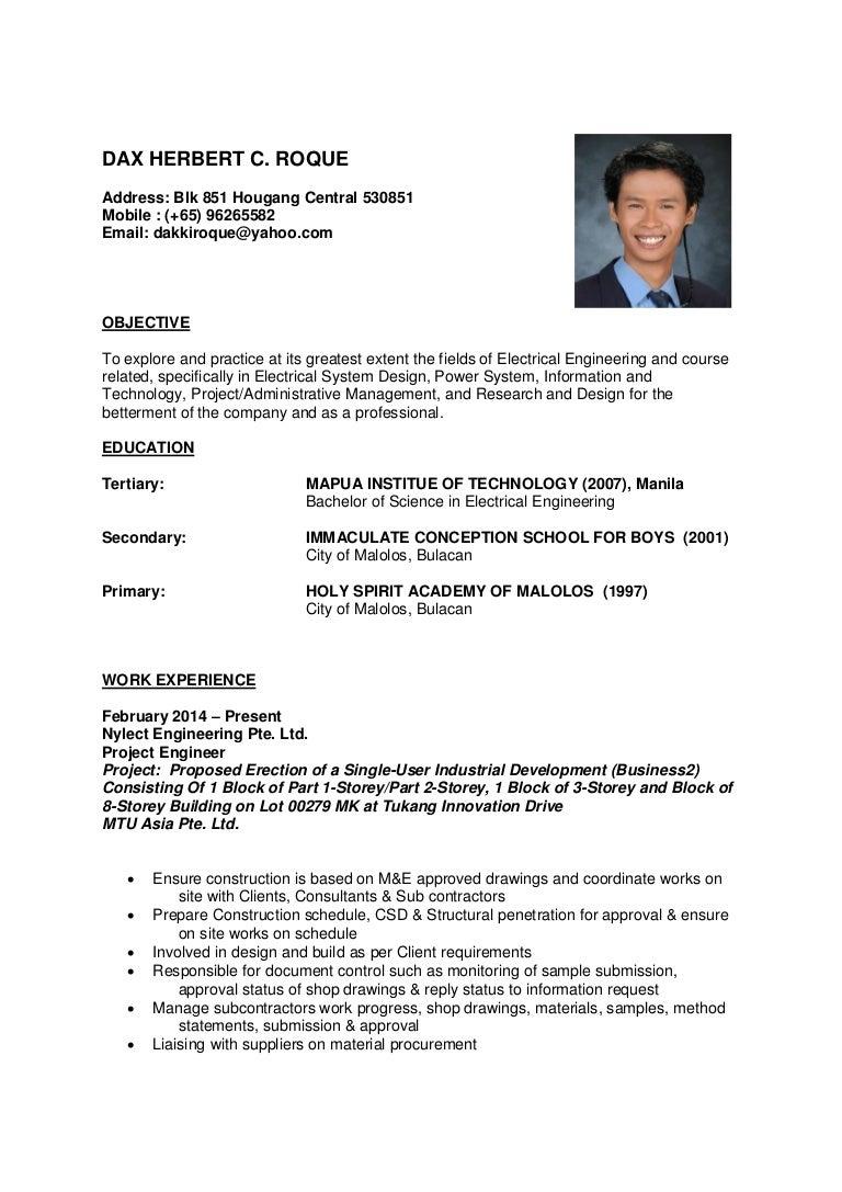 Stunning Sample Paano Gumawa Ng Resume Gallery Entry Level Resume