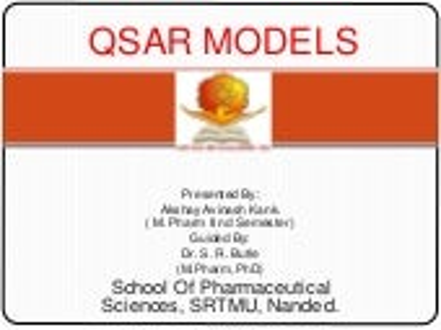 Hansch and Free-Wilson QSAR Models