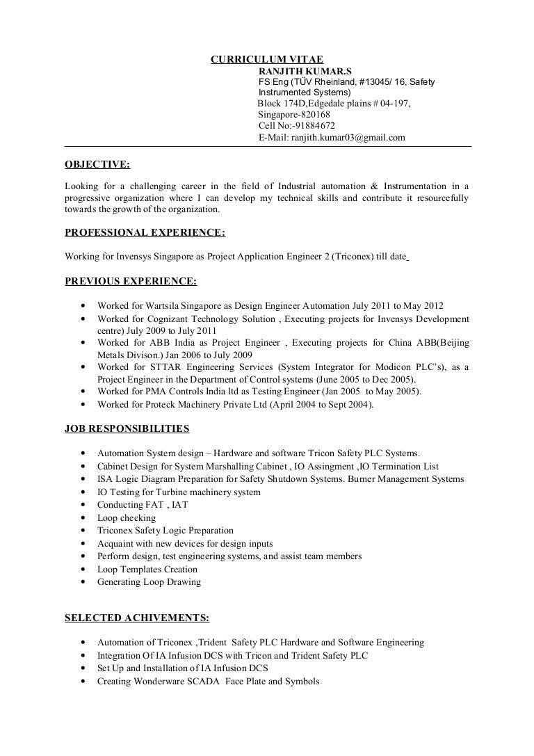 resume best remote software engineer resume example - Device Test Engineer Sample Resume