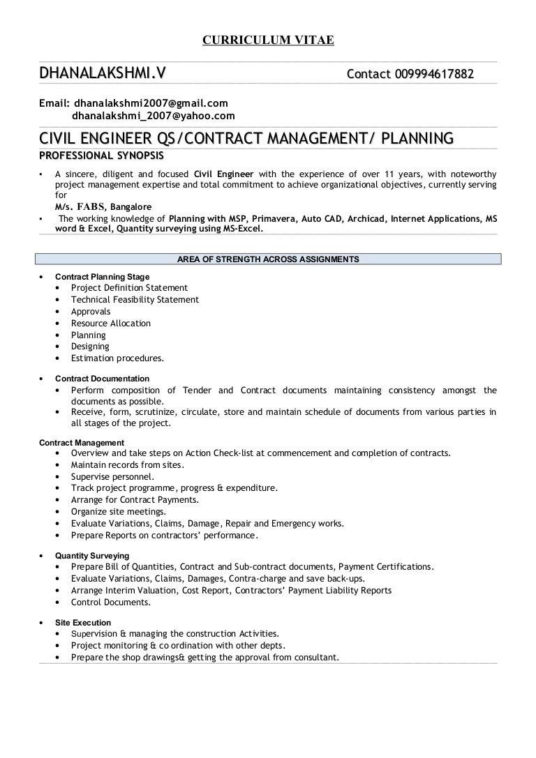 100 resume sample for civil engineer technician download