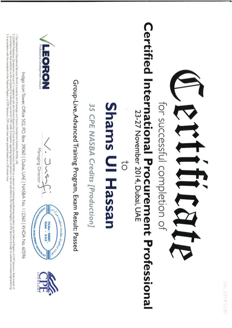 certificate cipp slideshare upcoming