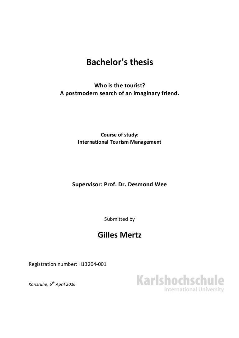 Bachelors Thesis