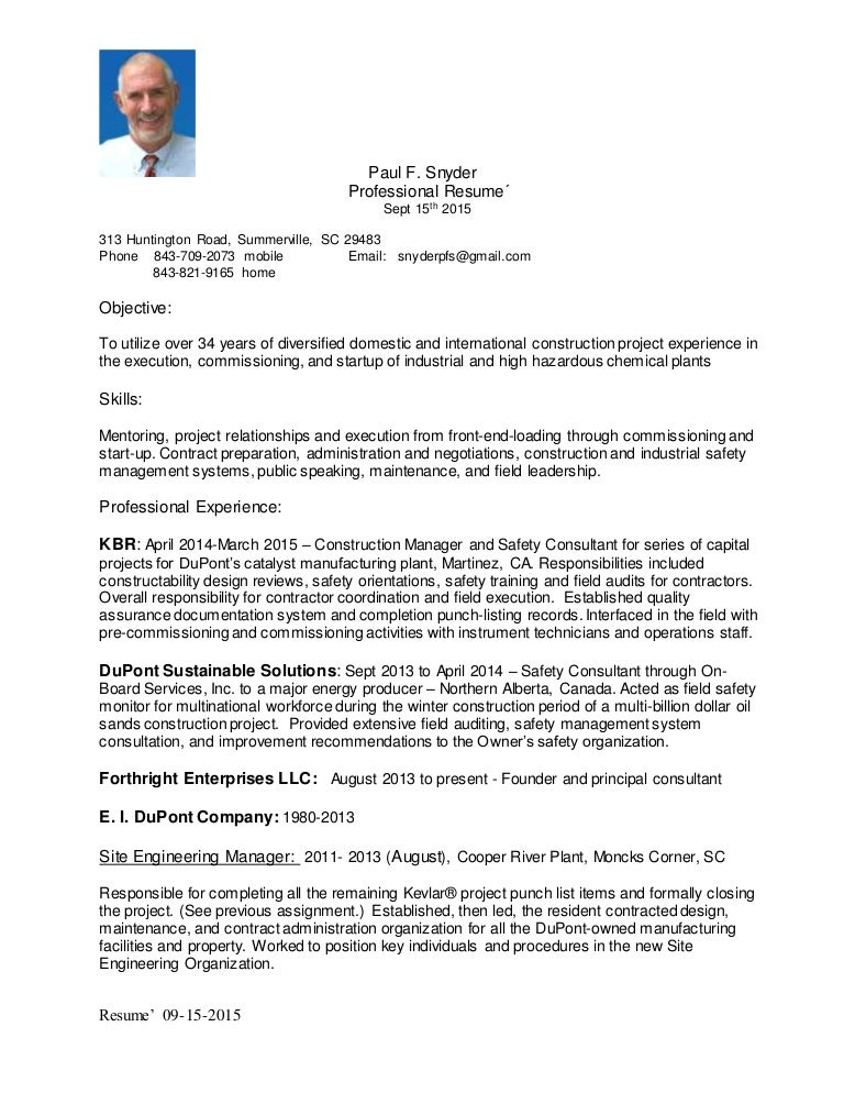 apartment maintenance supervisor resume sample