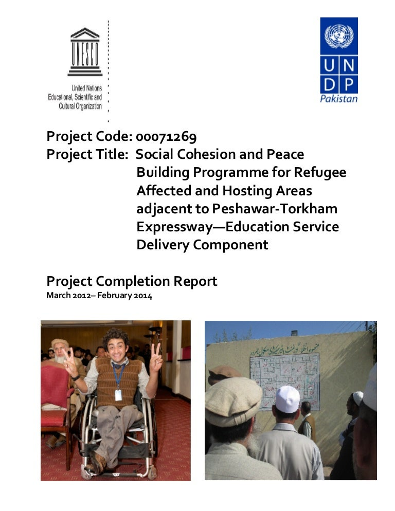 Project Completion Report 2014