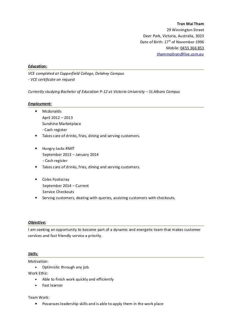 hobbies and interest for resumes