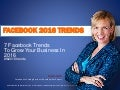 7 Facebook Trends To Grow Your Business In 2016 - Mari Smith