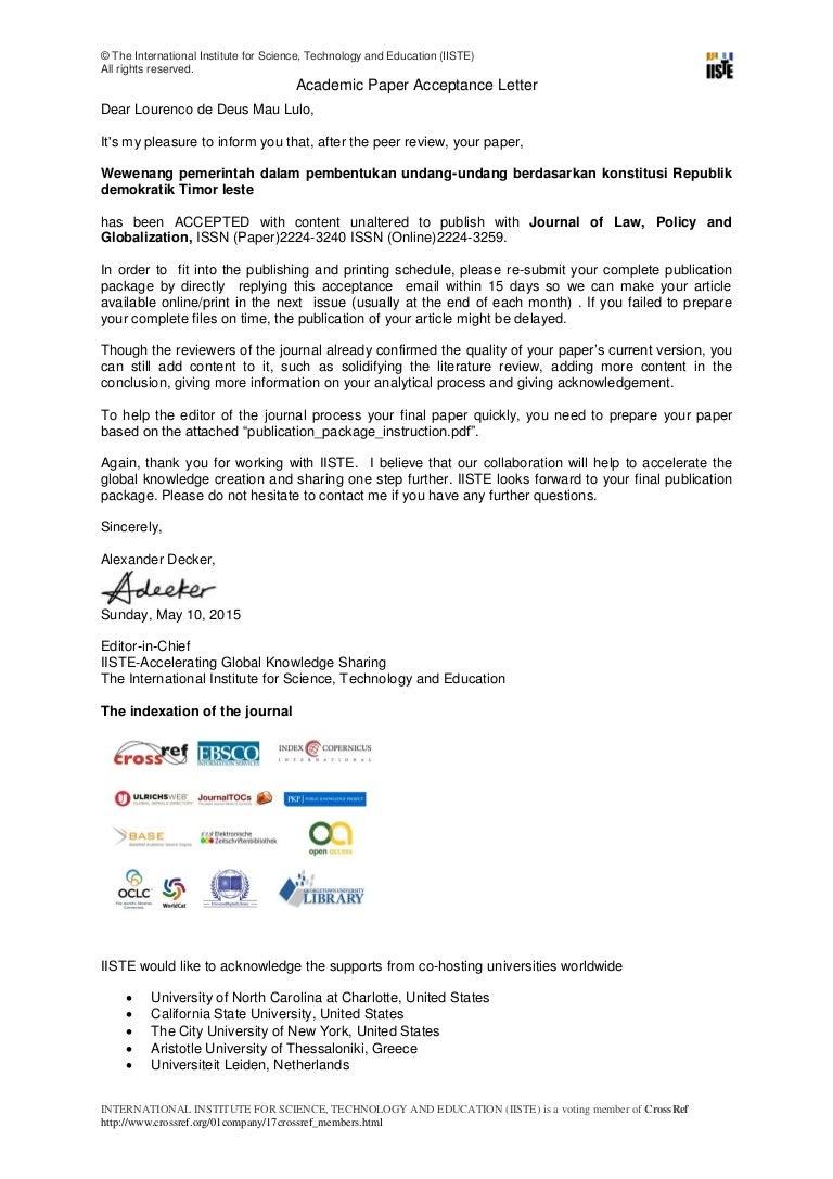 acceptance letter jlpg wewenang pemerintah