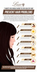 7 Habits You Should Avoid To Stay Healthy And Prevent Hair Problems