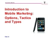 Intro to Mobile Marketing_Michael Hanley