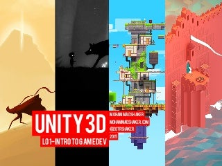 Unity L01 - Game Development