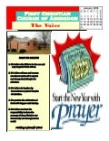 "First Christian Church of Abingdon January the ""Voice"" Newsletter 2016"