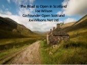 #OpenScot Update for Warsaw Policy Forum June 2017