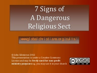 7 signs of_a_dangerous_religious_cult