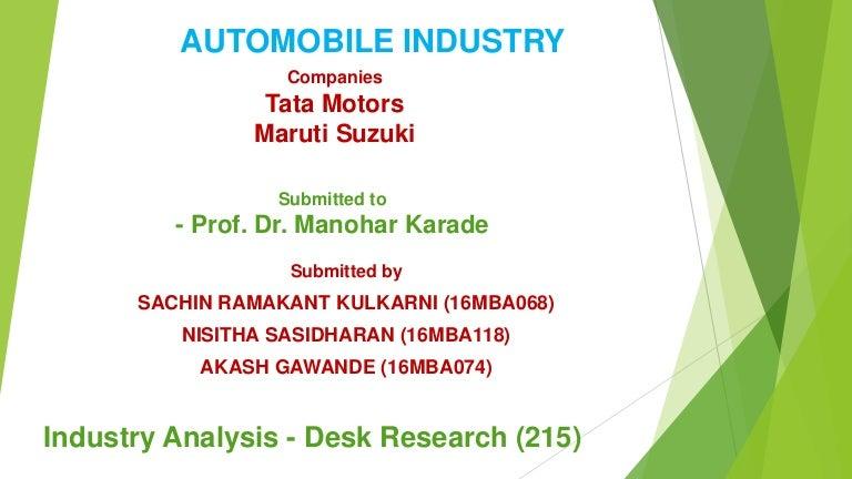 7 Tata Motors And Maruti Suzuki