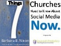 7 Things Churches Need to Know About Social Media Now