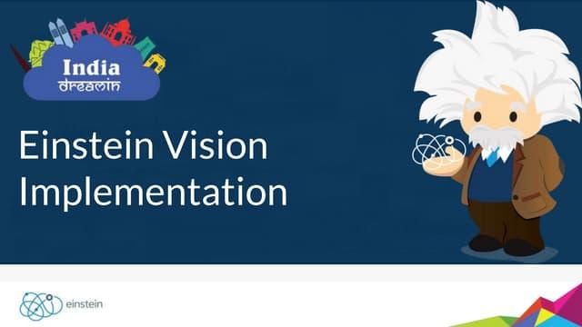 Salesforce Einstein Vision Implementation