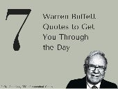 7 Warren Buffet Quotes to Get You Through the Day