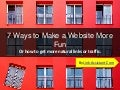 7 ways to make sites fun and get links and traffic