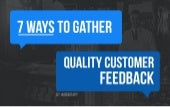 The 7 best ways to get quality feedback from your customers by @Frontapp