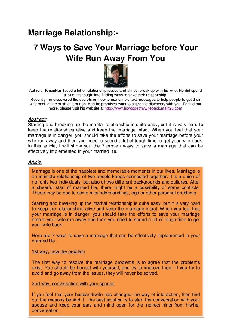 Husband and wife: the main causes of conflict and ways to resolve them