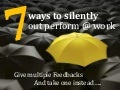 7 ways to silently stand out at work