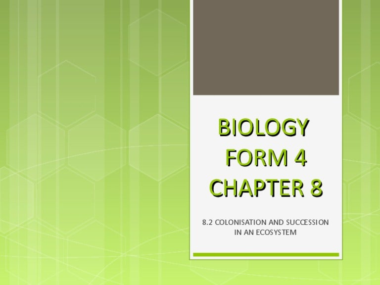 biology form 4 chapter 4 essay Chapter 4: chemical composition of the cell 1 chemical composition of cells 2 enzymes chapter 5: cell division 1 cell cycle and mitosis 2 application of mitosis in cloning 3 meiosis  notes (form 4) notes (form 5) biology glossary biology study tips search link to here too.