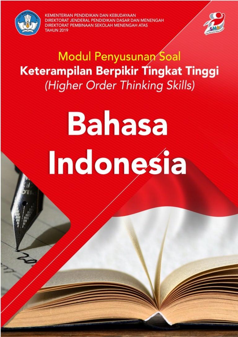 8 Modul Penyusunan Soal Hots Bahasa Indonesia