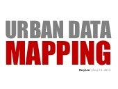 Urban Data Mapping