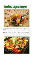 8.2.5 healthy vegan recipes
