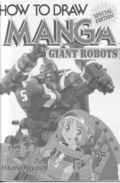 how to draw manga - giant robots