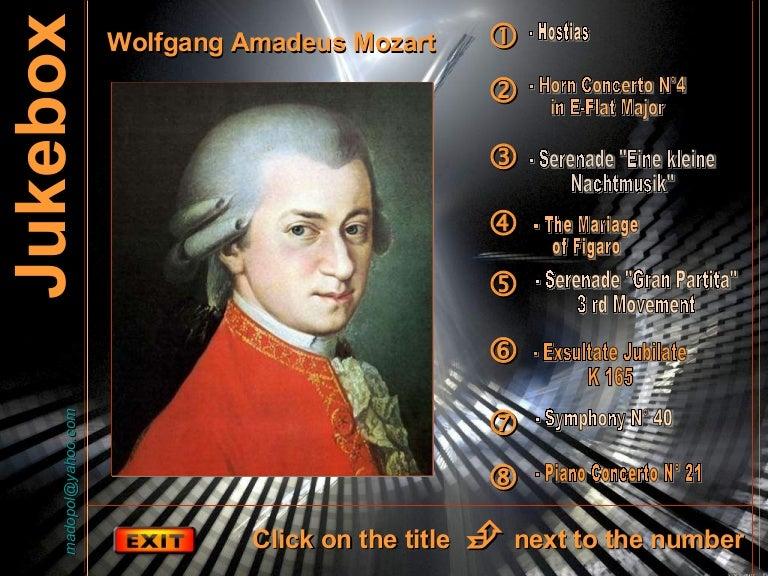 8-te vepra te madhit W. A. Mozart