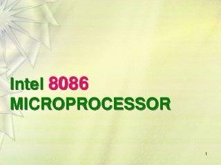 8086 microprocessor-architecture